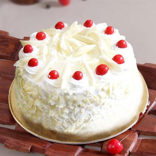 White forrest cake