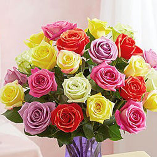 Mixed Blooms Roses