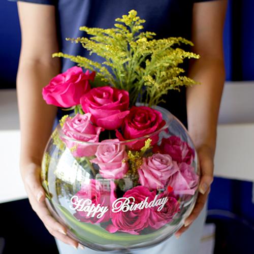 Birhday flower Bowl