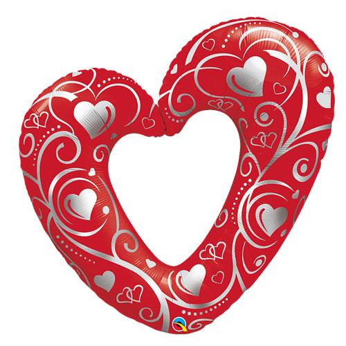 Red heart Balloon