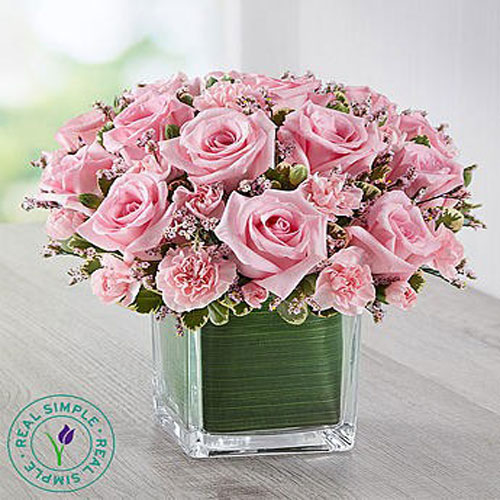 Cubical Pink Roses