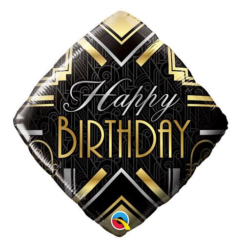 Diamond Birthday balloon