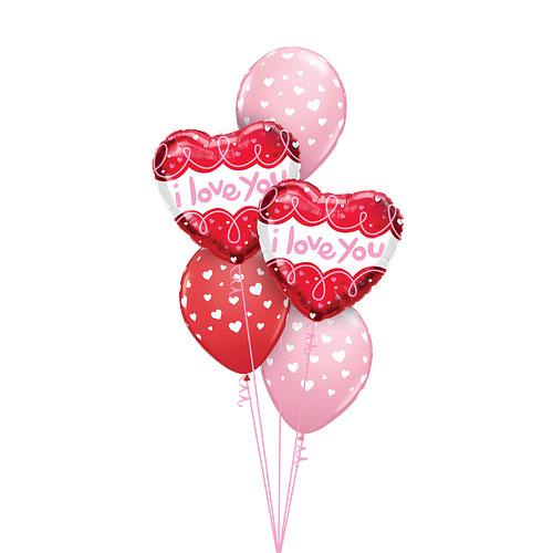 Doodle loops balloon bouquet