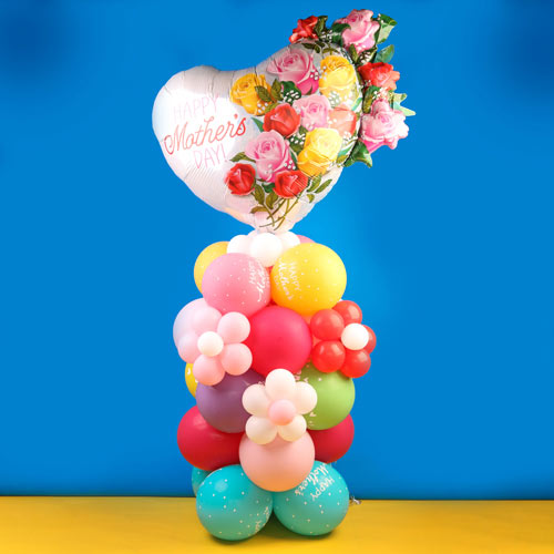 Mothers day balloon stand 3