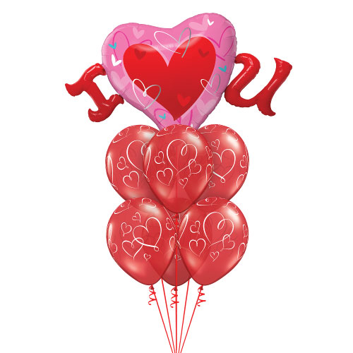 Balloon bouquet - ILU