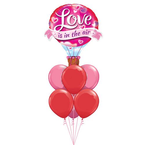 Balloon bouquet - Love in the Air