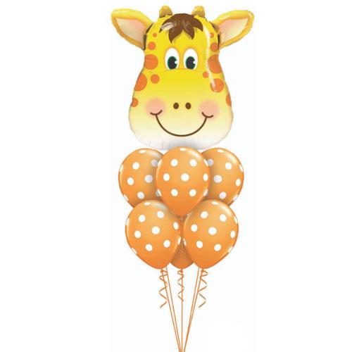 Giraffe balloon bouquet