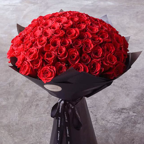 200 Roses Red Bouquet