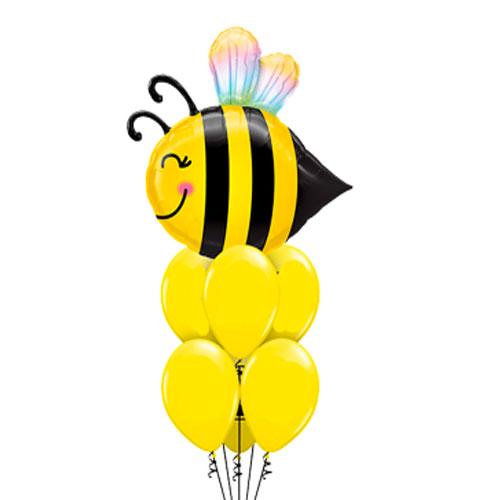 Bee Happy Balloon Bouquet